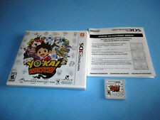 Yo-Kai Watch Yokai (Nintendo 3DS) XL 2DS Game w/Case & Insert