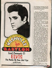 SUN records packet #2 (clippings +PHOTOS: JACK CLEMENT interview)+ Elvis Presley