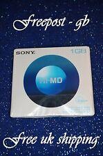 Sony 1 GB Hi-MD MiniDisc en blanco hasta 34 H de capacidad de grabación-HMD1GA-Nuevo