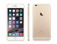 NEW GOLD VERIZON GSM/CDMA UNLOCKED APPLE 16GB IPHONE 6 SMART CELL PHONE JS32 B