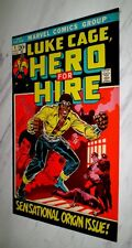 Luke Cage, Hero for Hire #1 NM+ 9.6 OW pages 1972 Marvel Bronze age