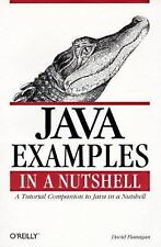 Java Examples in a Nutshell: A Companion Volume to Java in a Nutshell 1st Ed.