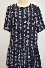 The Fifth Designer Black/White Floral Dress Size XSmall On Sale
