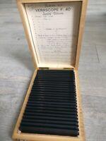 Rare Verascope F 40 stéréoscope 25 vues couleurs jersey, Guernesey ,famille1954