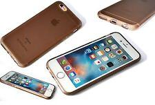 Apple iPhone 6 Flexi Cover High Density Composite TPU Duragel Case Smoke Black