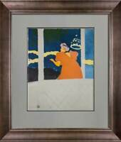 Henri de Toulouse-Lautrec Limited Edition LITHOGRAPH  w/Frame Included