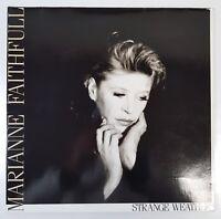 "LP Vinyl 12"" Marianne Faithfull Strange Weather ISLAND 208 431"