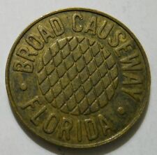 Broad Causeway (Bay Harbor, Florida) transit token - FL60C