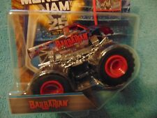 BARBARIAN X-RAYS  2017 New look Hot Wheels Monster Jam Truck with  Flag