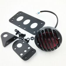Pre-drilled License Side Tag Holder Bracket Tail Light Harl Metric choppers