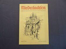 Niedersachsen, Zeitschrift für Heimat und Kultur, Heft 3 von 1957, Hildesheim