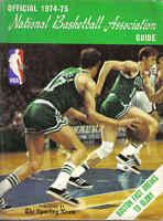 1974-75 The Sporting News Basketball Guide, John Havlicek, Boston Celtics