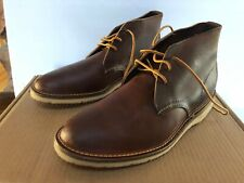 Red Wing Heritage 3322 Men's 8.5  Weekender Chukka Copper Rough And Tough