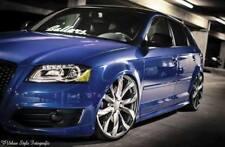 Audi A3 8P Facelift verbreiterte Kotflügel 3cm breiter