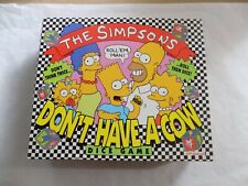The Simpsons Don't Have A Cow Man Dice Game