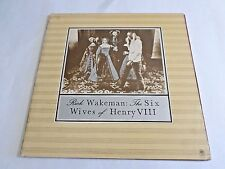 Rick Wakeman The Six Wives Of Henry VIII LP 1973 A&M Gatefold Vinyl Record