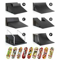 New Mini Skate Park Ramp Parts F Tech Deck Fingerboard Finger Skateboard gifts