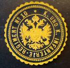 Siegelmarke um 1900 , k.u.k. Infanterie Regiment  No. 10