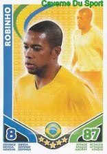 ROBINHO # BRASIL CARD CARTE MATCH ATTAX STARS MONDIALE 2010 TOPPS