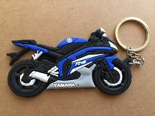 Hot New motorcycle keychain Rubber Yamaha R6