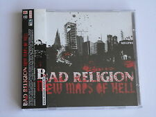 Bad Religion - New Maps Of Hell (2007) Like New, Multipage Booklet, OBI
