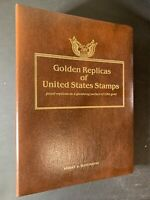 Golden Replicas United States Stamps 22K Gold First Day Issue - 42 Stamps