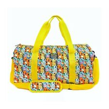 Loungefly Pikachu Starters All Over Print Nylon Duffle Bag Training Gym Bag