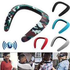 Portable Wireless Bluetooth Neckband Neck Speaker Stereo Bass for iPhone Android