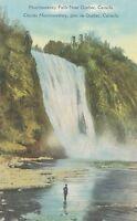 QUEBEC QC - Montmorency Falls near Quebec Chutes Montmorency