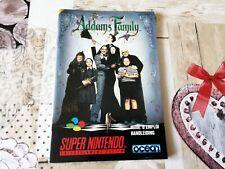 Notice - Handleiding The Addams Family / La famille Addams Super Nintendo FAH