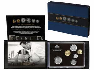 2011 Royal Australian Mint Six Coin Proof Set - Standard Coin Designs
