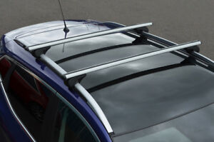 Cross Bars For Roof Rails To Fit Volkswagen Tiguan (2016+) 100KG Lockable