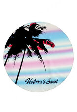 Victoria's Secret Palm Tree Round Beach Mat