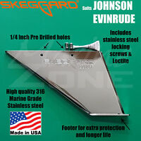 JOHNSON EVINRUDE omc 40-50HP 2 STROKE Years 1986-2000 Skeg Guard, skeggard cover