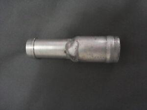 BEADED STEPPED ALUMINIUM REDUCER 45 mm - 42 mm FOR SILICONE HOSE FACTORY SECONDS
