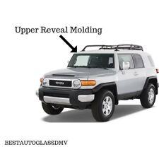 Brand New 2007-2014 Toyota FJ Cruiser White Upper Top Windshield Reveal Molding