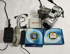 KONICA MINOLTA DiMAGE 5 Vintage Camera 3.3 MP 7x Digital Cam W/ Accessories +Bag