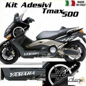 SET COMPLETO ADESIVI CARENA GRIGIO FITS YAMAHA T-MAX 500 01-07