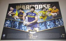 Nathan Hindmarsh (Eels)  signed limited edition official print - War Horse