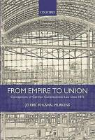 From Empire to Union. Conceptions of German Constitutional Law since 1871 by Mur