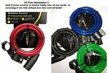 180cms Mobility Scooter Security Lock Extra Strong Steel Cable 10 year Guarantee