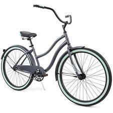 Huffy 26-inch Cranbrook Women's Comfort Cruiser Bike,Single Speed, Gray