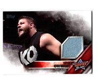 WWE Kevin Owens 2016 Topps Event Used SummerSlam Mat Relic Card SN 57 of 199