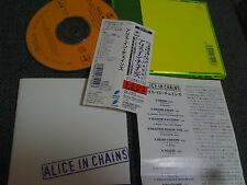 ALICE IN CHAINS / alice in chains/ JAPAN LTD CD OBI  color case