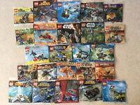 Lego Polybags Star Wars Batman Ninjago Turtles Spiderman Minifigures Poly Bag