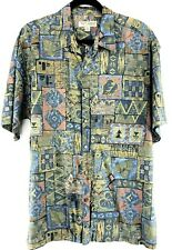 Tori Richard Size XL Mens SS Cotton Lawn Aloha Camp Hawaiian Shirt Chest 49""