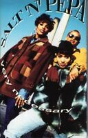 Salt N Pepa Very Necessary 1993 Cassette Tape Album Hiphop Rap
