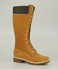 Timberland 14 Inch Premium Boots Waterproof Damen Winter Stiefel Wheat 3752R