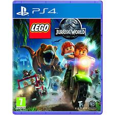 Lego Jurassic World Jeu Vidéo pour Sony PS4 Consoles de Jeux Neuf Scellé