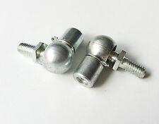 GAS STRUT END FITTING 10mm M6 / M8 ball studs ball joint bonnet hatch x2